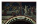 La Cène et Melchisédech offrant du pain et du vin  bénit Abraham  cinquième