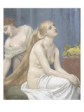 Femme &#224; sa toilette ou La toilette