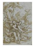 Vénus tente de dissuader Adonis de partir à la chasse