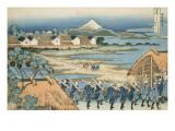 Vue du Senju : défilé de Daimyo