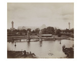 Expo Universelle de 1851 : Tower Bridge sur le bassin sud