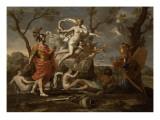 Vénus montrant ses armes à Enée