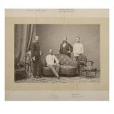 L'empereur François Joseph 1er (1830-1916)  l'archiduc Charles-Louis  l'archiduc Louis-Victor