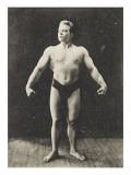 Champion du monde de force Leveur de poids