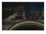 L'Adoration des Mages  troisième travée du côté gauche de la nef de l'église