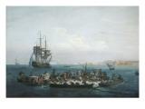 Vue du Golfe de Bandol  pêche au thon