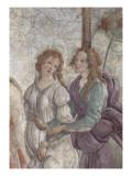 Vénus et les Grâces offrant des présents à une jeune fille Giclée par Sandro Botticelli