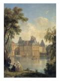 Vue de la cour de la Fontaine