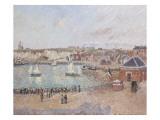 Vue de l'avant-port de Dieppe