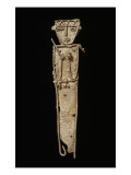Figurine votive anthropomorphe avec r&#233;cipient &#224; chaux et b&#226;tonnet