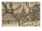 Volume III : carte postale   1er janvier 1897