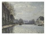 Vue du canal Saint-Martin  Paris