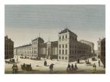 Vue du palais Bourbon