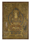 V&#233;n&#233;ration de Guanyin &quot;secourable aux douleurs&quot; () ; Buddha cosmique Vairocana ()