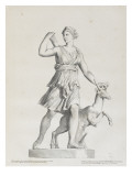 Tableau du Cabinet du Roi  statues et bustes antiques des Maisons Royales Tome I : planche 7