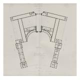 """Recueil """" Domaine de la Couronne """" - Palais de Versailles : Planche 18 : Plan du 1er étage des"""