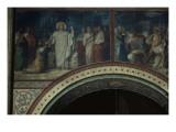 Mission des apôtres  Jésus remet les clefs à Saint Pierre  deuxième travée