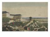 Vue du Calvaire  près Paris en 1824