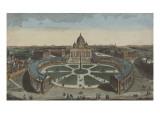 Vue de l'église de Saint-Pierre à Rome