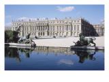 Vue du château de Versailles  côté parc