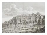 Vue du château de Blois