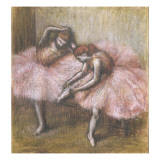 Deux danseuses roses