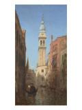 Vue d'un canal à Venise