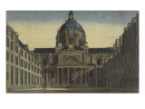 Vue de la Sorbonne prise de la cour