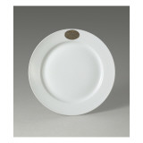 Assiette plate blanche