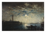 Venise et le Campanile au clair de lune