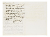 Autographe à Berryer  Champronay par draveil Seine et Oise Juillet 1855