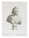 Tableau du Cabinet du Roi  statues et bustes antiques des Maisons Royales Tome II : planche 1