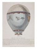 """Présentation de la """"Montgolfière"""" de Pilâtre du Rosier lachée à Versailles  le 23 juin 1784 en"""