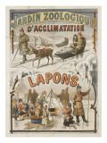 Jardin zoologique d'acclimatation  Lapons