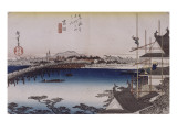 Yoshida  le pont sur la rivi&#232;re Toyo