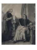Signature du Concordat entre la France et le Saint-Siège  par le pape Pie VII  le 15 août 1801 (le