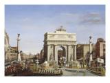 Visite de Napoléon Ier à Venise du 28 novembre au 8 décembre 1807: Entrée d