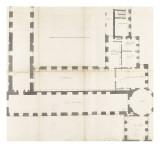 Recueil du Louvre (Tome II) : folio 31  Projet d'aménagement des cabinets de collectionneur de