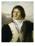 En uniforme de capitaine au 1e bataillon de chasseurs de Paris en 1792