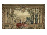 Les Maisons royales Octobre  signe du Scorpion : promenade de Louis XIV en vue du château des