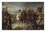 Sur le pont de Lech  à Augsbourg le 12 octobre 1805