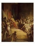 Baudouin IX  comte de Flandre  couronné empereur latin d'Orient à Constantinople