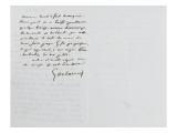 Lettre autographe signée Eugène Delacroix à PA Berryer  le 11 Mai 1855