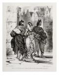 Faust de Goethe  livre ayant appartenu à Delacroix : Faust et Marguerite dans la ville  Mephisto à