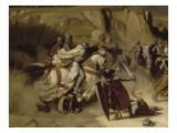 Reprise de Beyrouth occupée par les troupes du sultan Saladin  par Amaury de Lusignan (futur