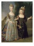 Catherine-Eléonore-Eugènie de Béthisy (1707-1767)  future princesse de Montauban  et son frère