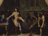 """Alexandre le Grand faisant porter à Aristote divers animaux étrangers afin qu'il écrive son """""""