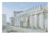 Sicile  de Malte  et de Lipari : Le Temple de Minerve &#224; Syracuse  1776-1777