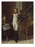 Joseph Bonaparte  roi de Naples et des deux Siciles (1768-1831) en tenue de grenadier de la garde 