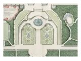 Recueil des châteaux, jardins, bosquets et fontaines de Versailles, Trianon Giclée